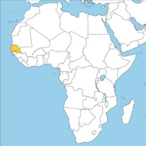 Afikakarte - Senegal