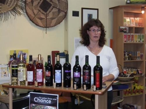 Weinprobe April 2010